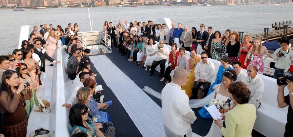 Weddings On The Royal Princess Yacht Ny Boat Charter